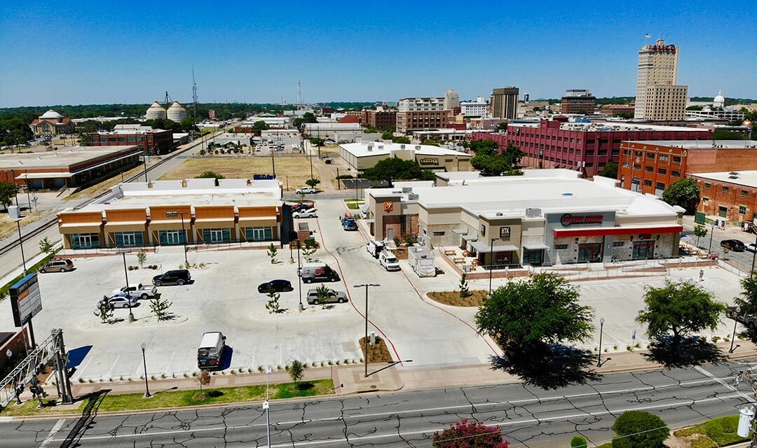 University Parks Center | Turner Behringer Real Estate | Waco, TX